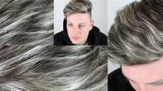 männer frisuren weiße haare graue haare selber f 228 rben graue str 228 hnen grey hair
