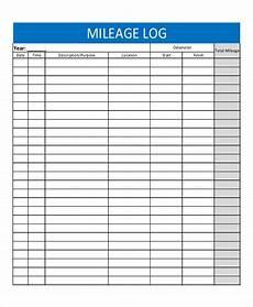 Gas Log Template Gas Log Mileage And Gas Log