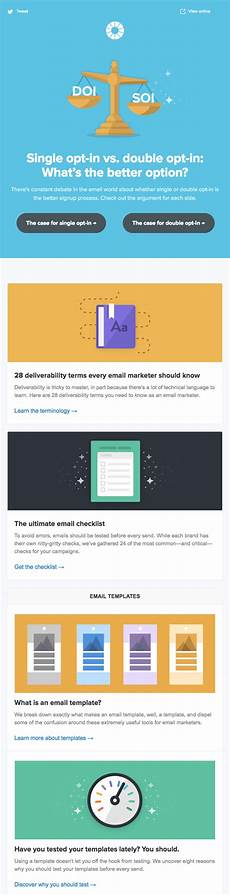 Newsletter Examples 10 Best Email Newsletter Examples You Ve Got To See
