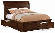 sonoma storage bed brown the brick