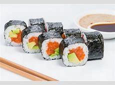 Salmon & Avocado Nori Rolls (Low Carb   Paleo   Keto