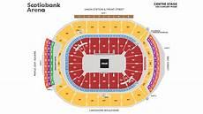 Scotiabank Place Halifax Seating Chart 3d Seating Maps Scotiabank Arena