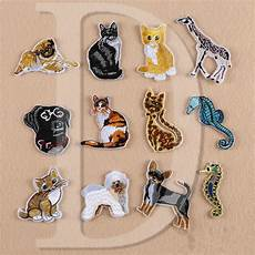 patches for clothes 1 pcs labrador parches embroidered iron on patches for
