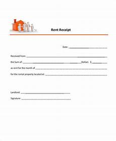 Receipt Of Rent Payment Template 29 Sample Payment Receipt Templates