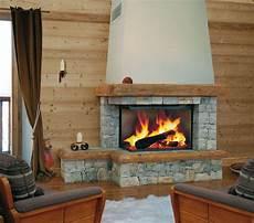 foyer bois fireplace chalet chemin 233 e chalet en de taille et