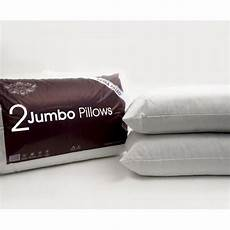 pack of 1 2 4 6 jumbo bed pillows filled soft