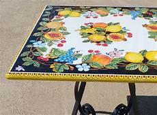 tavoli da giardino in pietra lavica ceramiche di vietri piastrelle e pannelli murali