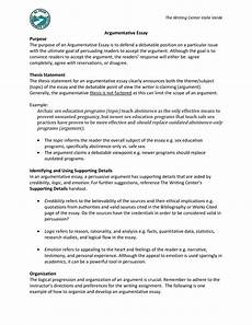 Argumentative Essay Sample Sample Paper Argumentative Essay Templates At
