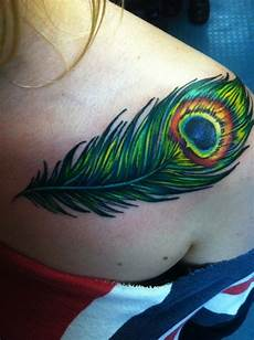Female Feather Designs 40 Peacock Feather Tattoos For Girls