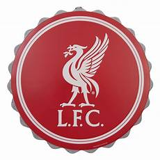 Liverpool Wallpaper Ebay by Liverpool Fc Lfc Liverbird Bottle Cap Wall Sign Nwt