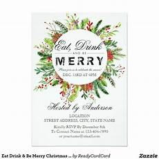 Create Your Own Party Invitations Create Your Own Invitation Zazzle Com Christmas Party