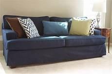 Navy Blue Sofa Slipcover 3d Image 15 best ideas of navy blue slipcovers
