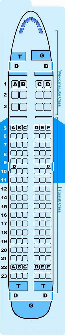 Airbus A319 100 Seating Chart Seat Map Airbus A319 100 Seatmaestro