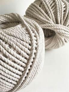 3ply macrame rope fiber cord 100 cotton rmc