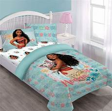 moana disney bed in a bag comforter set w fitted