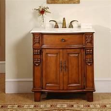 33 inch carved single sink vanity cabinet uvsr020433