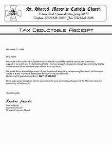 Donation Receipt Letter For Tax Purposes Church Contribution Letter Ipasphoto