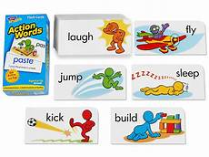 Flash Cards Words Action Words Flash Cards At Lakeshore Learning