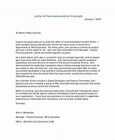 how to write an recommendation letter free 7 sample recommendation letter templates in pdf ms