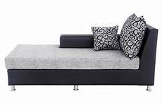 leatherete grey and black stylish diwan sofa rs 25000