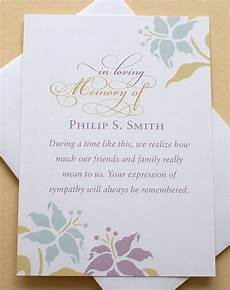 Condolences Thank Yous Thank You Sympathy Cards With Lovely Flowers Custom Flat