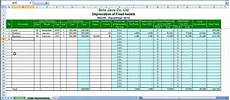 Depreciation Schedule Template Excel Free Straight Line Depreciation System By Excel Youtube