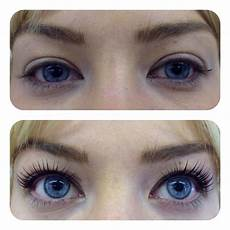 before after picture of lvl lashes lvl lashes