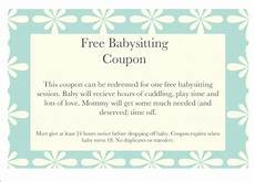 babysitting coupon templates 15 babysitting coupon examples psd ai indesign examples