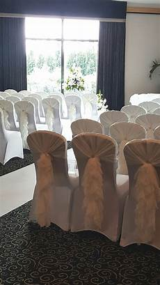 wedding chair cover and bow hire rental glasgow