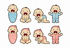 Baby Cartoons Free Crying Baby Cartoon Vector Download Free Vectors