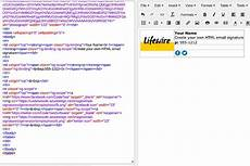 Create Html Email Templates How To Create An Html Email Signature