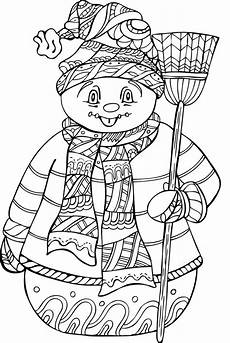 Ausmalbilder Winter Ausdrucken Cold Weather Coloring Pages At Getcolorings Free
