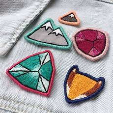 diy embroidered patch workshop craft company