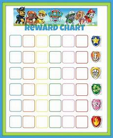 Free Printable Potty Chart Paw Patrol Paw Patrol Reward Chart Potty Sticker Chart Sticker