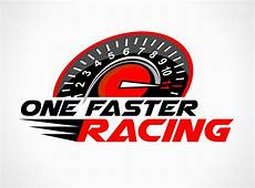 Racing Logo Design Racing Logo Design For One Faster Racing By Jhgraphicsusa