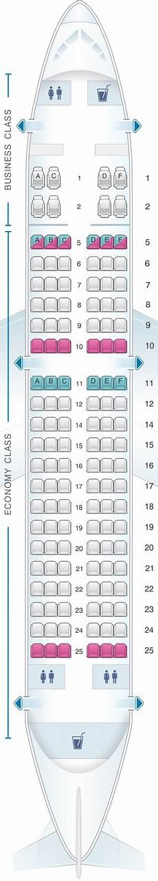 Airbus A319 100 Seating Chart Seat Map Silkair Airbus A319 100 Seatmaestro