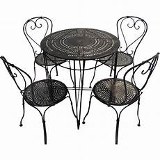 Patio Sofa Table Png Image by Bistro Table And Chairs Black Tulip Antiques Ltd