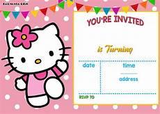 Hello Kitty Birthday Template Free Hello Kitty Invitation Templates Drevio