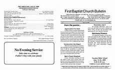 Church Service Bulletin Template 8 Best Images Of Church Bulletin Templates Free Printable