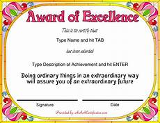 Certificate Format Template Free Award Certificate Templates Sample Complaint Email