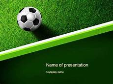 Football Powerpoint Template Soccer Ball Near Line Powerpoint Template Youtube