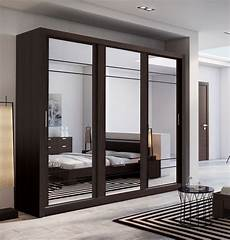 brand new modern bedroom 3 sliding door mirror wardrobe
