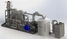 Acid Gas Incinerator Design Medical Waste Incinerator Scrubber Used To Process Ebola Waste