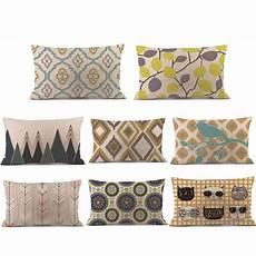 1pc pillow 30cm 50cm rectangle cushion cover silk