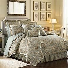 j new york barcelona comforter set in aqua bed