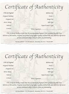 Authentication Certificate Format Certificate Templates