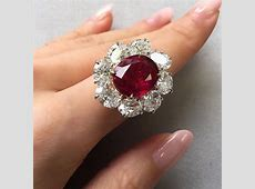 On view now at Geneva: A 10.05 carats Burmese ruby and