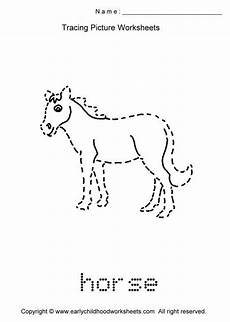 Animal Patterns To Trace Trace Animals Images As To Print This Worksheet