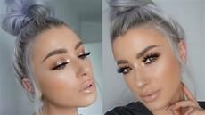 soft glowy glam makeup tutorial lolaliner