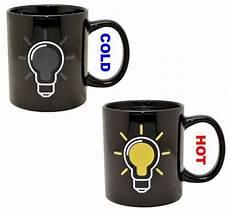 Light Bulb Mug Mug 301ml Light Bulb Discoloration Cup Ceramic Coffee Mug